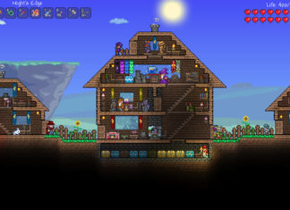 Terraria gameplay screenshot